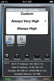 Screenshot - SBSettings Toggles